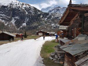 Legendární skialpový přechod Haute Route