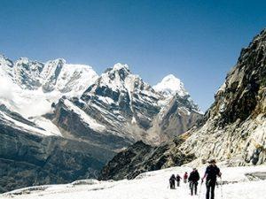 Nepál - Everest horský trek přes tři sedla