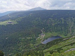 Letní přechod hor Krkonoš