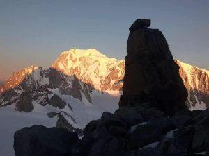 Výstup na na Dent du Geant s horským vůdcem UIAGM